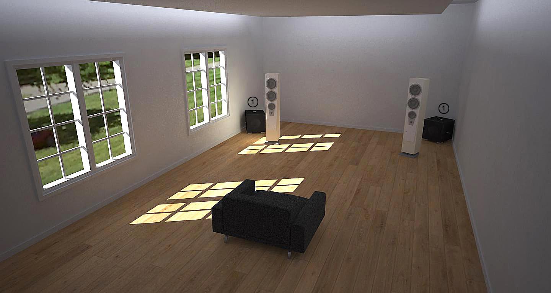 REL 2 Channel Room Setup 2