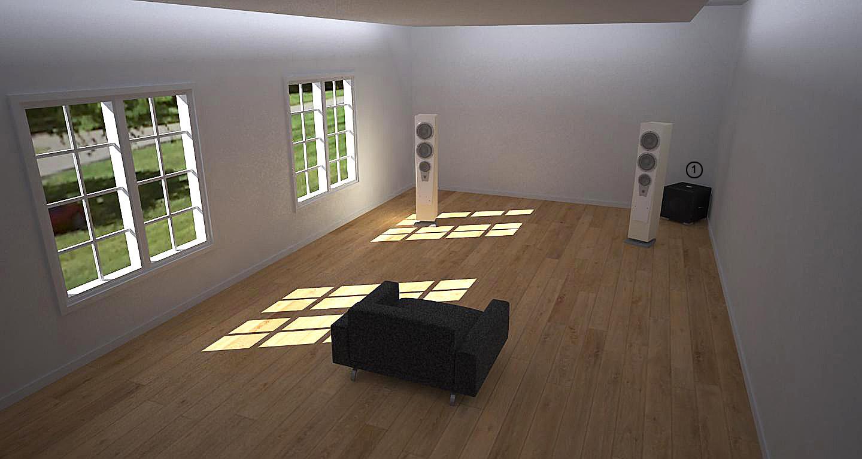 REL 2 Channel Room Setup 1