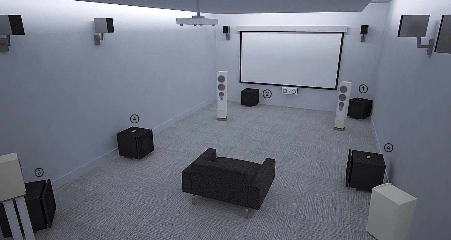 REL Theater Room Setup 1
