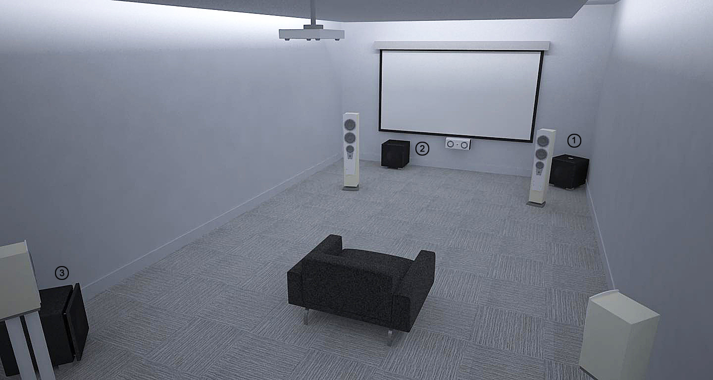 REL Theater Room Setup 4