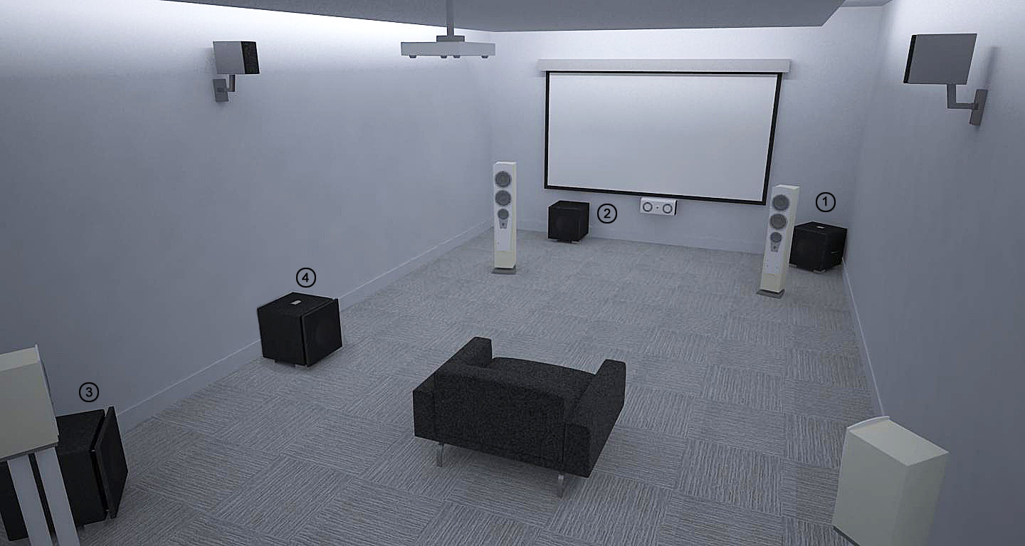 REL Theater Room Setup 5